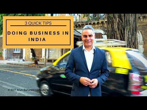 Doing Business in India - Cultural Insights with Arun