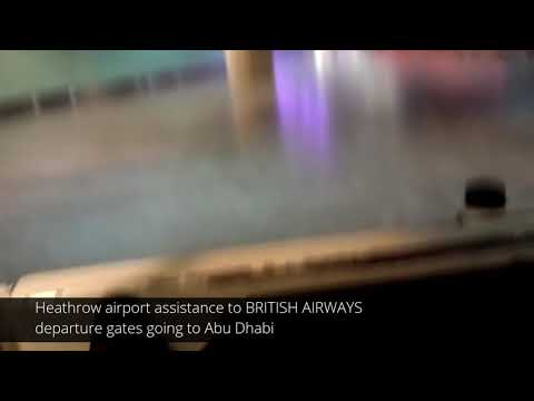 HEATHROW AIRPORT BUGGY ASSISTANCE | LHR UK