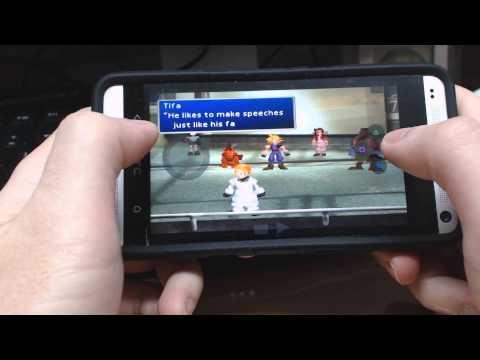 HTC One - Playstation Emulator - Final Fantasy VII