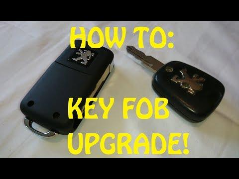 HOW TO: KEY FOB UPGRADE! Flip key