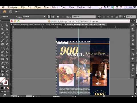 Adobe Illustrator CS6 Changing Document Setup and Artboard Settings