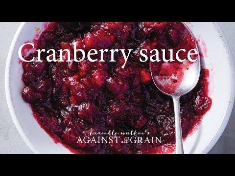 Cranberry Sauce | Danielle Walker