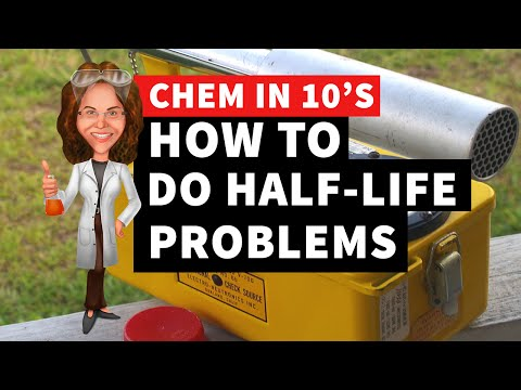 How to Do Half-Life Problems of Radioactive Isotopes
