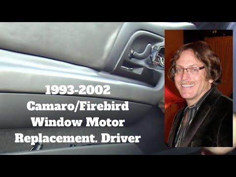 Camaro & Firebird Window Motor Replacement