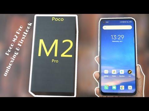 Poco M2 Pro Unboxing