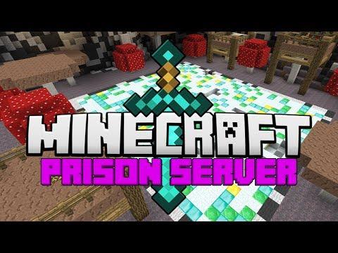 Minecraft: OP Prison #4 - DIAMOND AND EMERALD BLOCKS! (Minecraft Prison Server)