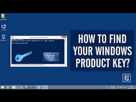 How to Get Product Key for Window 7 Ultimate/8/10