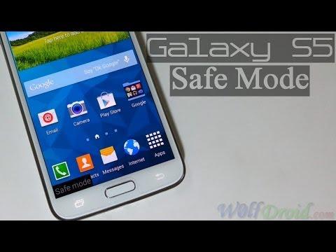 Samsung Galaxy S5 Safe Mode