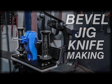 Bevel Grinding Jig Knife Making DIY