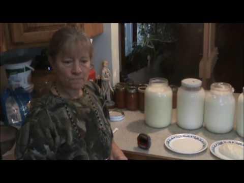 Making Goat Milk Farmer's Cheese
