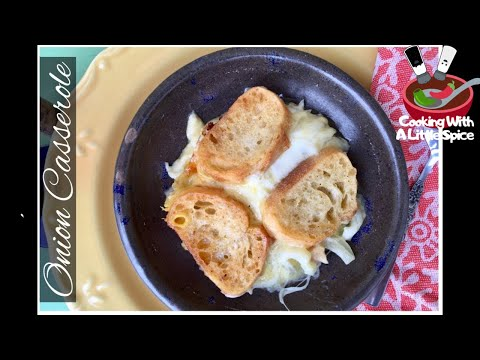 Easy Onion Casserole Recipe