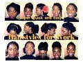 20 Super Quick and Easy Hairstyles for Work (Natural Hair 4abc)
