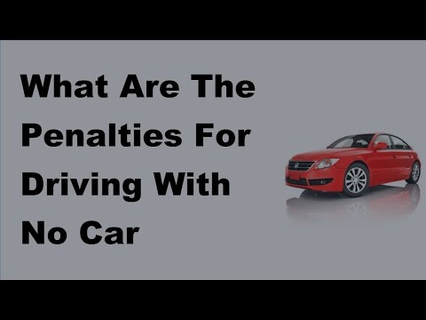 2017 Car Insurance Penalties | What Are The Penalties For Driving With No Car Insurance
