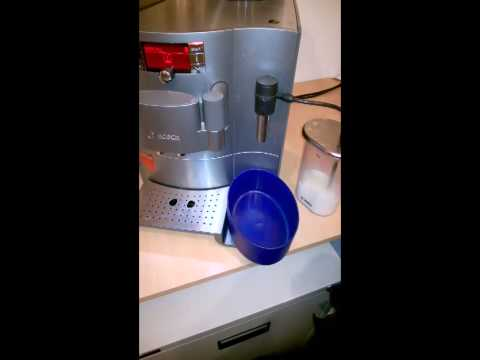 Bosch Verobar Coffee Machine - Milk far to cold for Latte