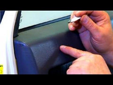 Useful Automotive Tips : Repairing Torn Auto Vinyl