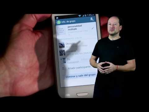 Cómo agregar un contacto a un grupo en WhatsApp