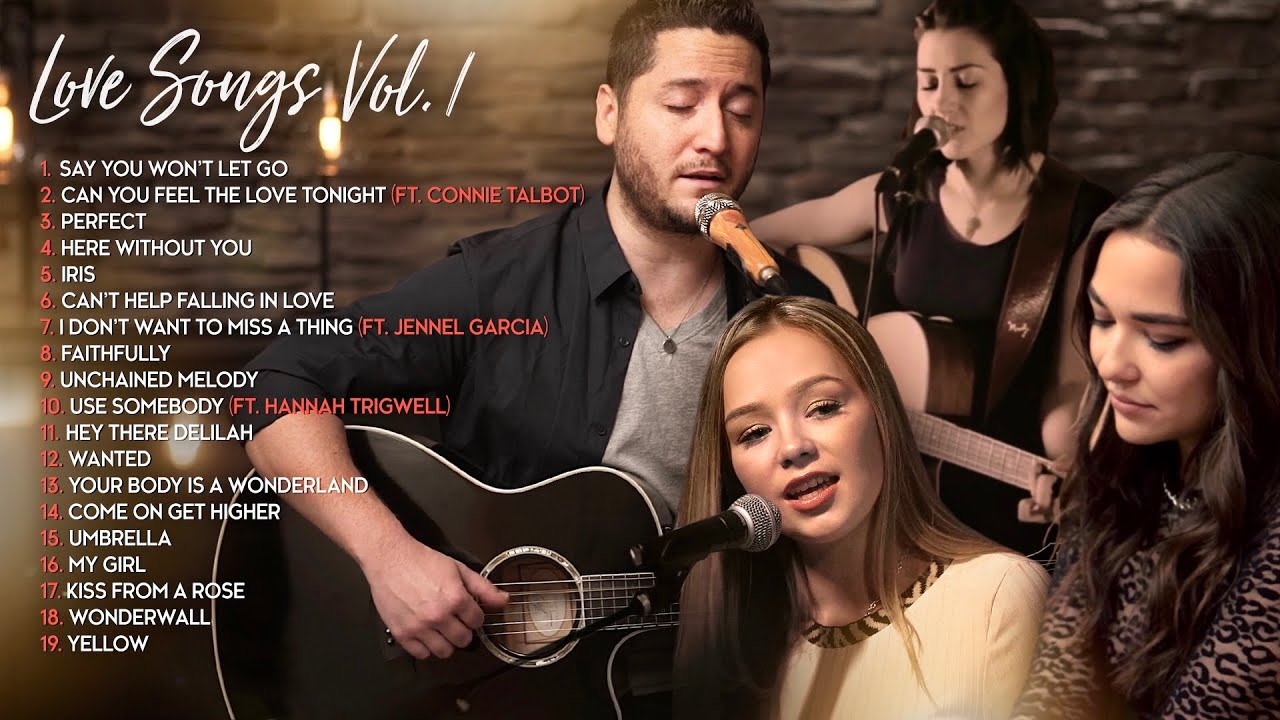Boyce Avenue Acoustic Cover Love Songs/Wedding Songs (Connie Talbot, Jennel Garcia, Hannah Trigwell)
