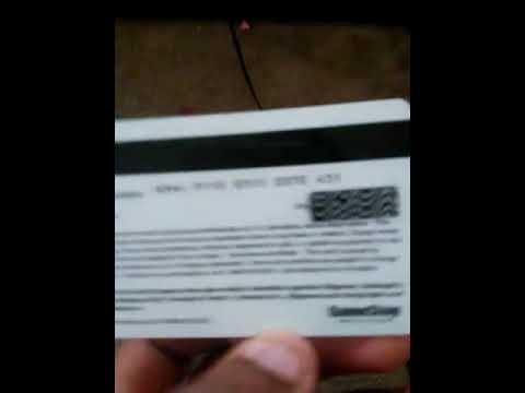 GameStop Credit card for Xbox Live