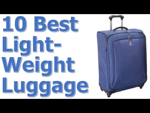 Best Lightweight Luggage Reviews    Best Lightweight Luggage 2017