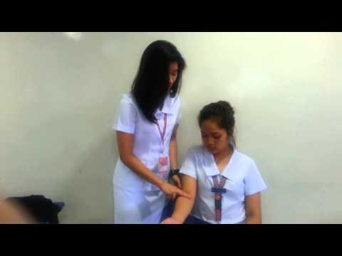 pulse in the brachial area