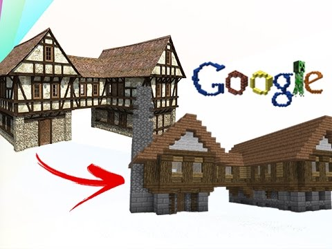 Build Tips - Transfer From Google Images to Minecraft