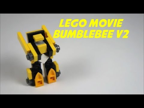 How To Make A Mini Lego Movie Bumblebee V2