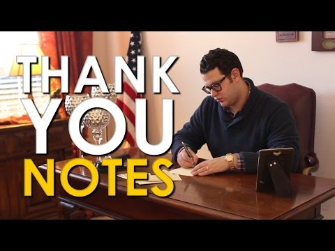 How to Write a Thank You Note | The Art of Manliness