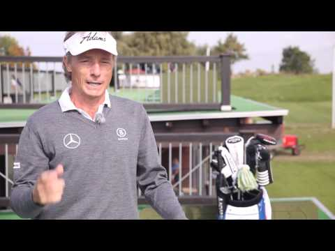 How to hit low and high shots with Bernhard Langer