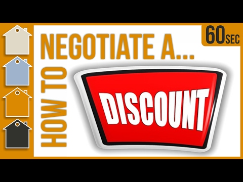Using Negotiation Skills To Get Discount On Materials | Negotiation Tips