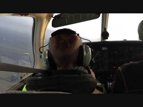 8 years old boy flying a plane, look what happened!!!