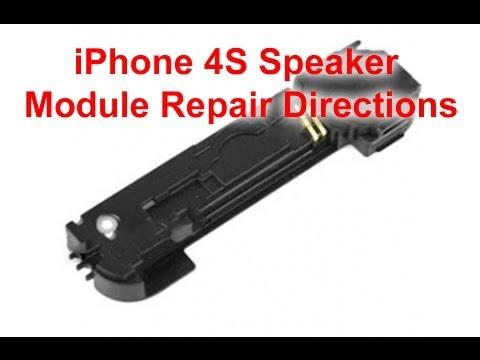 iPhone 4S Speaker Module Repair Directions | DirectFix