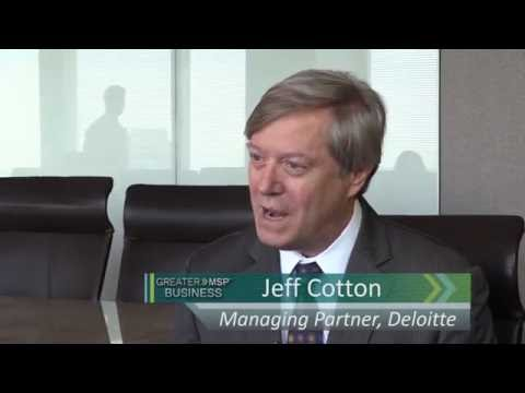 Interview with Jeff Cotton of Deloitte in Minneapolis