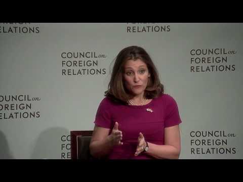 Clip: Freeland on Status of NAFTA Discussions