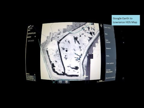 Create Lowrance HDS Maps from Old Google Earth Images
