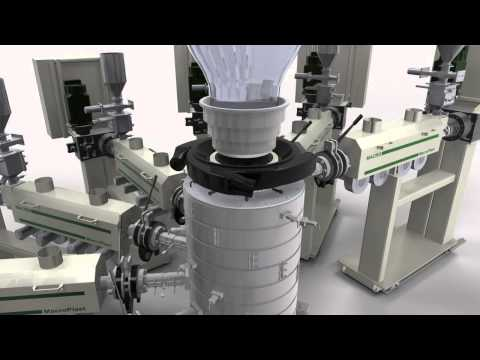 9 Layer Blown Film Coextrusion Line for Barrier Films