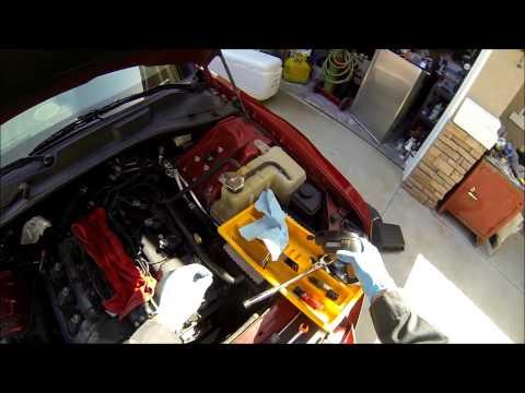 Dodge charger or Chrysler 300 2.7L spark plug change error P0303 P0171