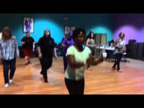2015 Line Dance Open House - Blurred Lines
