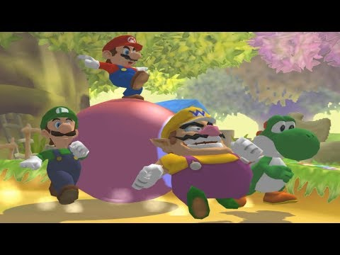 Mario Party 5 - All 1-vs-3 Minigames