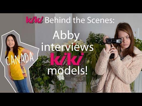 Abby interviews Kiki Models: Canada! April/May 2015 issue of Kiki magazine