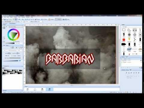 logo design for  rock,metal band, logo designer london tutorial