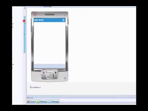 Visual Studio 2008 Tutorial: Creating Your First Windows Mobile Device Application