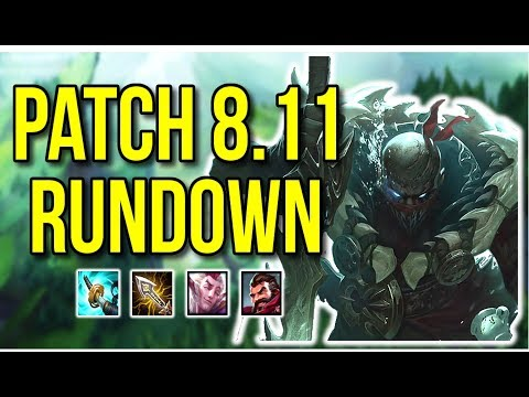 Patch 8.11 Rundown | Major ADC Changes - League of Legends