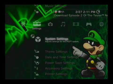How to put Music, Movies, and Pictures on your PS3