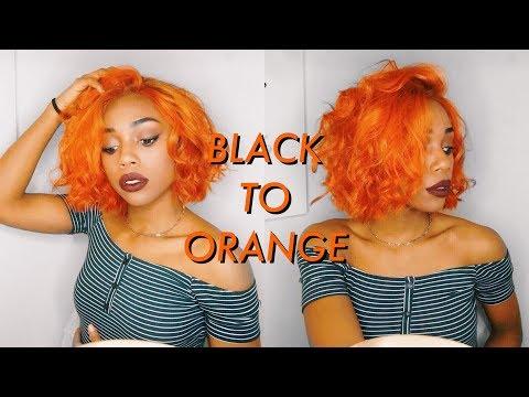 HOW I GOT MY ORANGE HAIR | Maxine Hair on Amazon - Adore Sunrise Orange & Orange Blaze