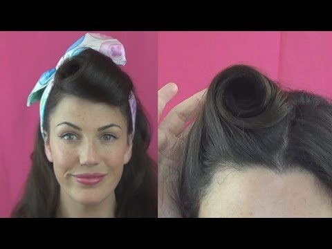 HOW TO roll VICTORY ROLLS 6 DIFFERENT ways - Vintagious