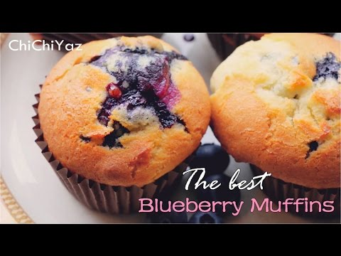 ChiChiYaz | How to make the best blueberry muffins