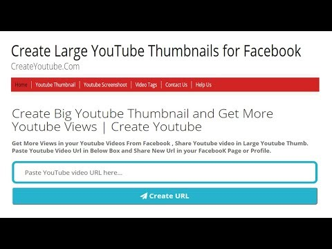 How To Create Big Youtube Thumbnail and Get More Youtube Views 2018 | BD it Help