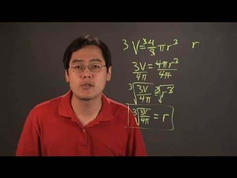 How to Solve Complex Literal Equations & Fractions : Mathematics Education