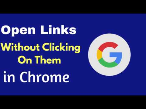 How To Open Links Without Clicking On Them In Chrome