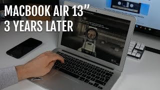 "Macbook Air 13"" (2013) – 3 years later"